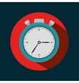 icon chronometer sport design vector image