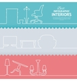 Flat colors infographics vector image vector image