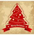 Merry Chistmas card vector image