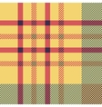 Set of seamless british tartan pattern Plaid vector image