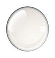 blank bubble vector image