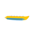 Banana boat vector image