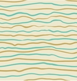 Seamless blue and yellow striped pattern vector image vector image