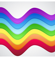 Beautiful Abstract Rainbow Background vector image