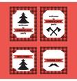 Printable set of vintage Lumberjack invitation and vector image