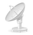 satellite dish 01 vector image
