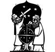 Astrologers vector image vector image