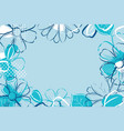spring season banner template background with vector image