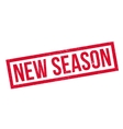 New Season rubber stamp vector image vector image