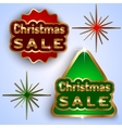 Christmas Sale Badges vector image