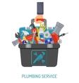 Plumbing Service Concept vector image