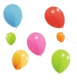 Colored balloons seamless pattern  Eps 10 vector image vector image