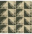 rough edges textile print vector image vector image