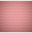 Vintage pink pattern with shadow vector image