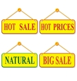 Label and design element vector image vector image