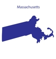 United States Massachusetts vector image