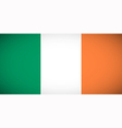 National flag of Ireland vector image