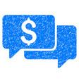 price bids grunge icon vector image