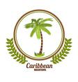 Caribbean Design vector image
