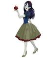 Halloween Snow White vector image