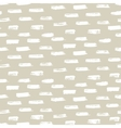 Seamless ink brush painted pattern with beige and vector image