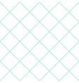 Mint Green Grid White Diamond Background vector image