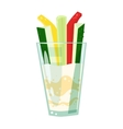 Vegetable drink vector image
