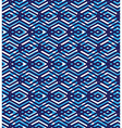 Blue abstract seamless pattern with interweave vector image