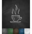 coffee icon Hand drawn vector image