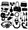 women design elements vector image vector image