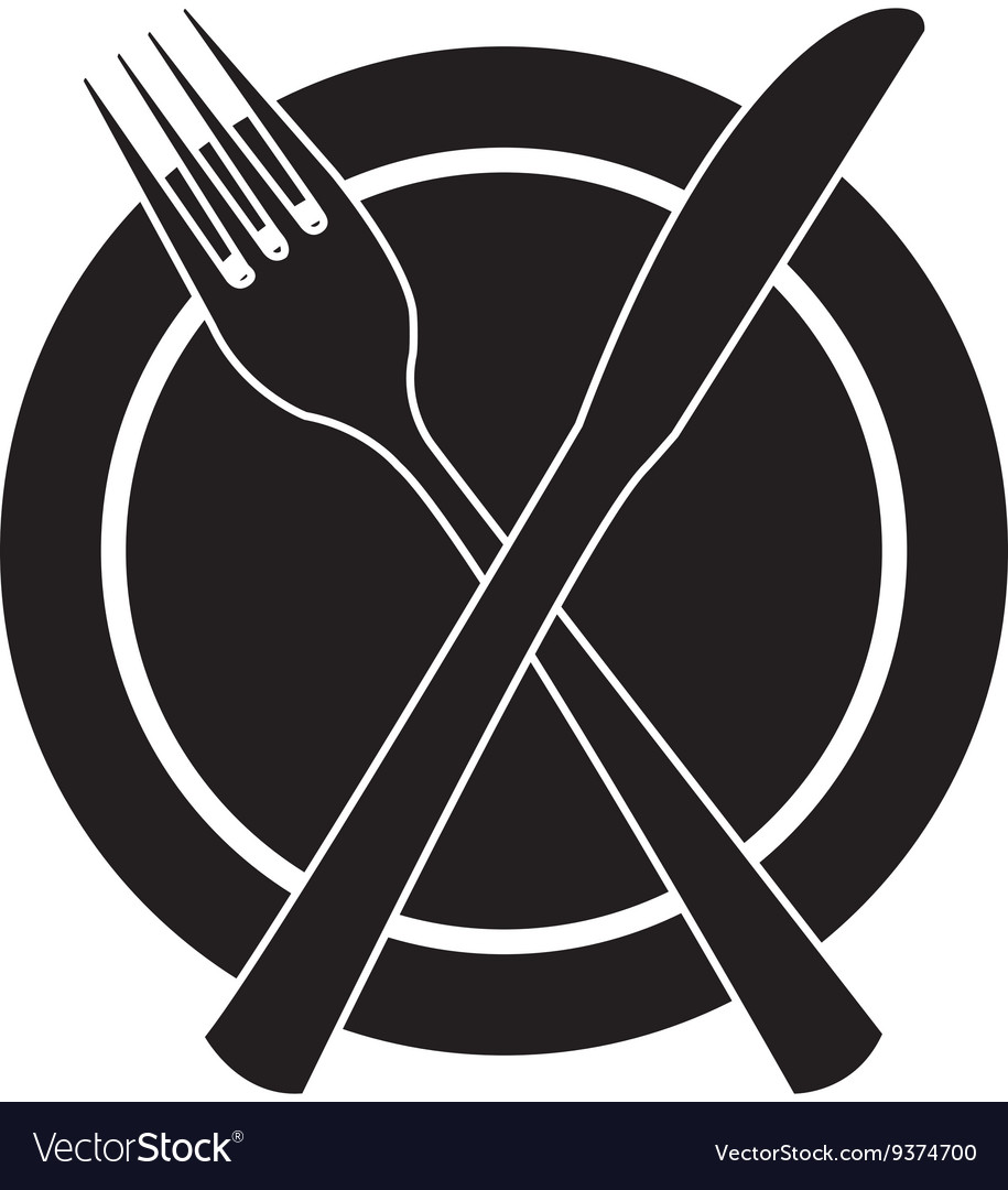 Table cutlery isolated icon design vector
