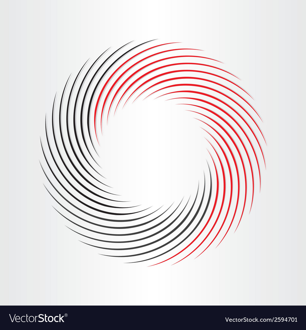 Decorative circle abstract frame icon vector