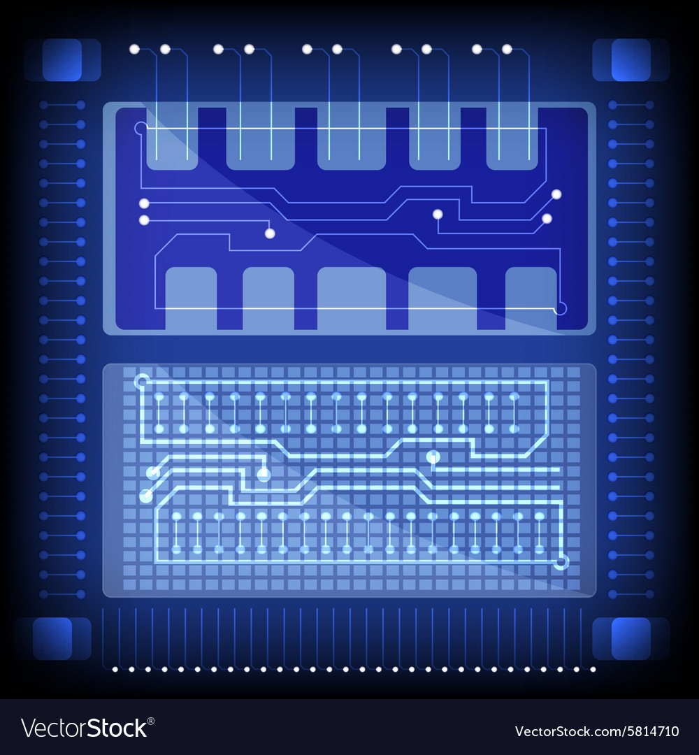 Electronic technology vector