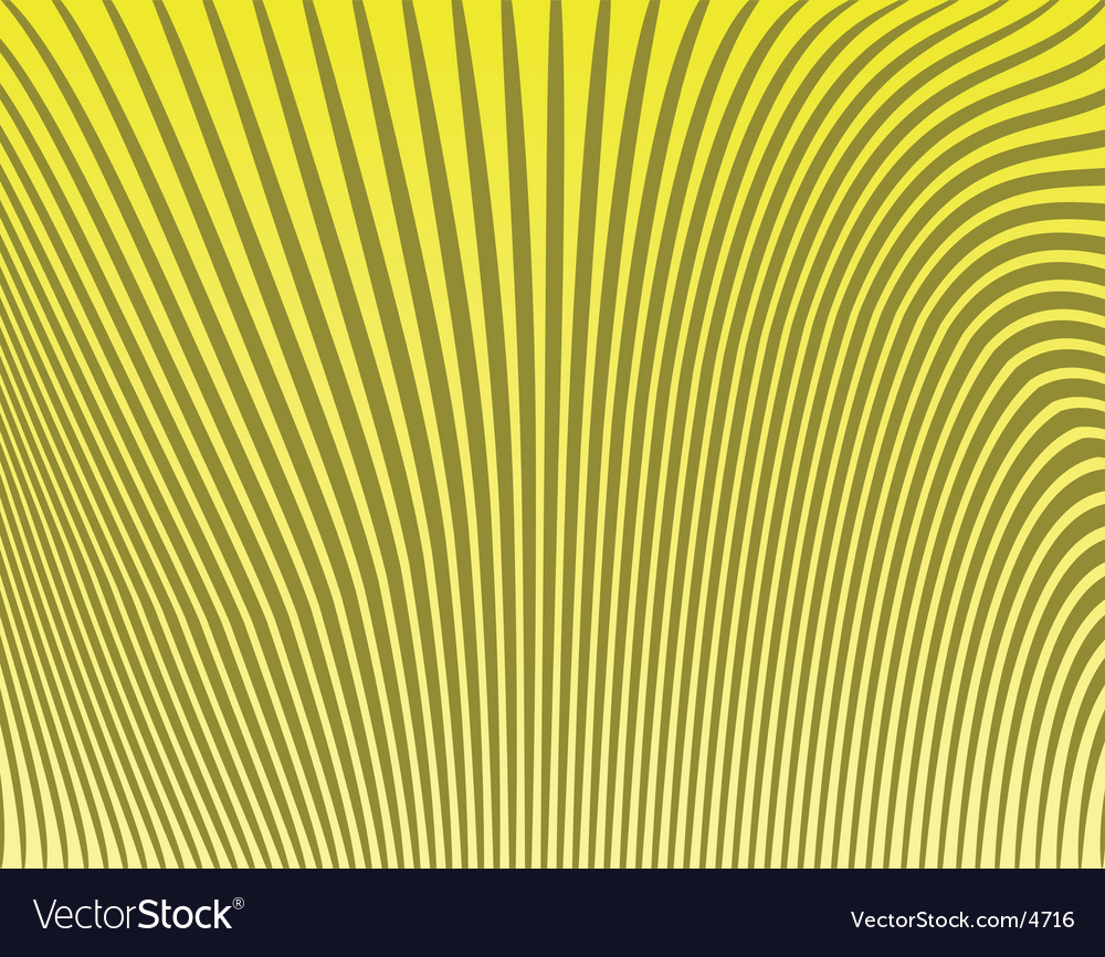 Banana stripes vector