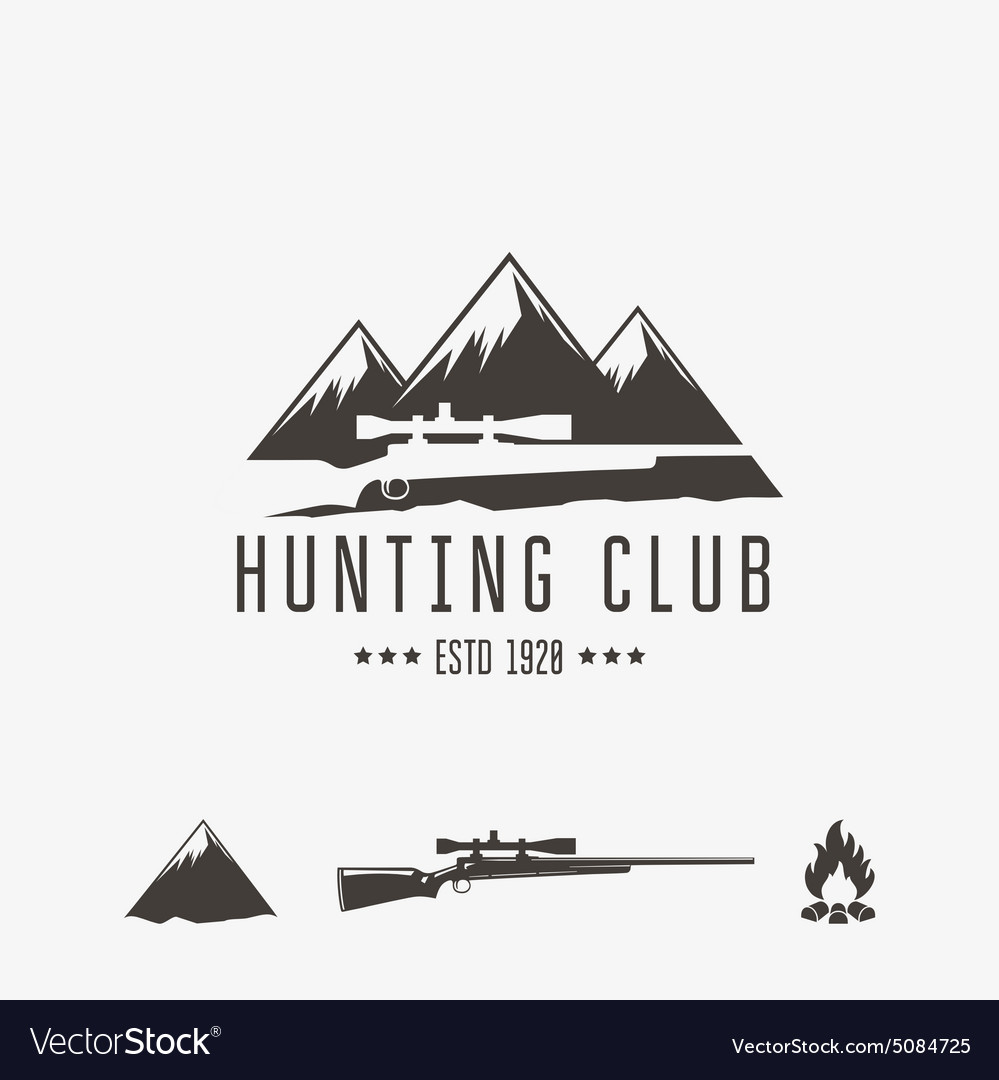 Hunt club vector