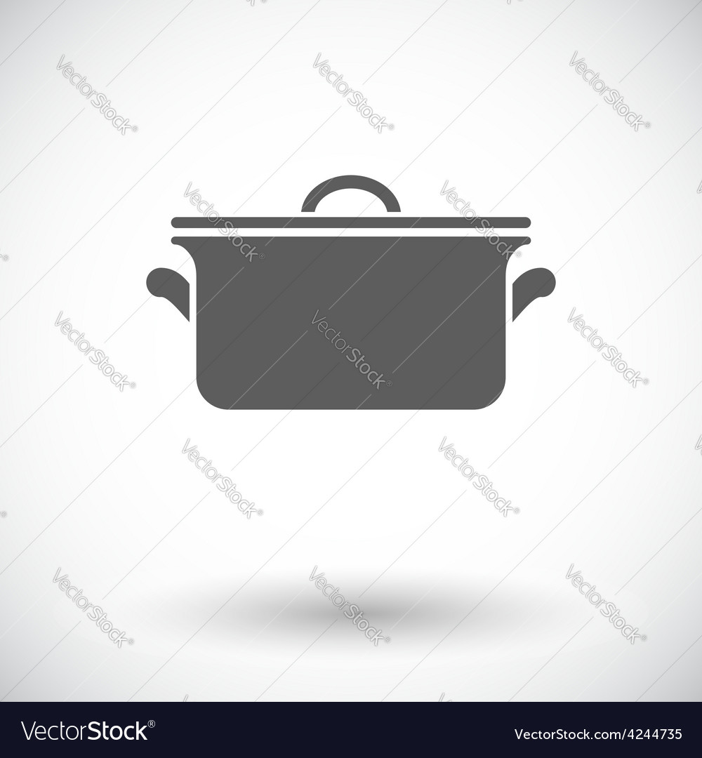 Pan icon vector