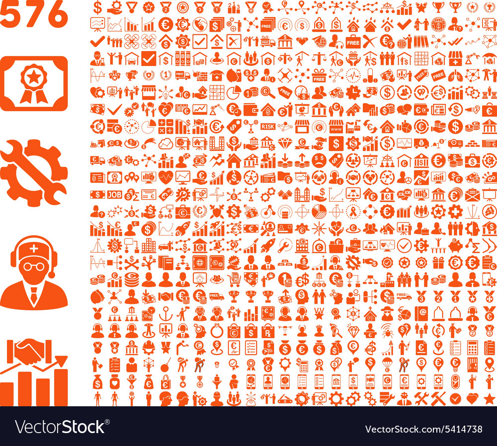 Flat toolbar icons vector