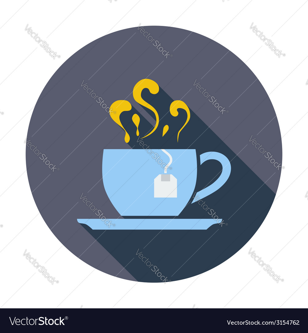 Tea icon vector