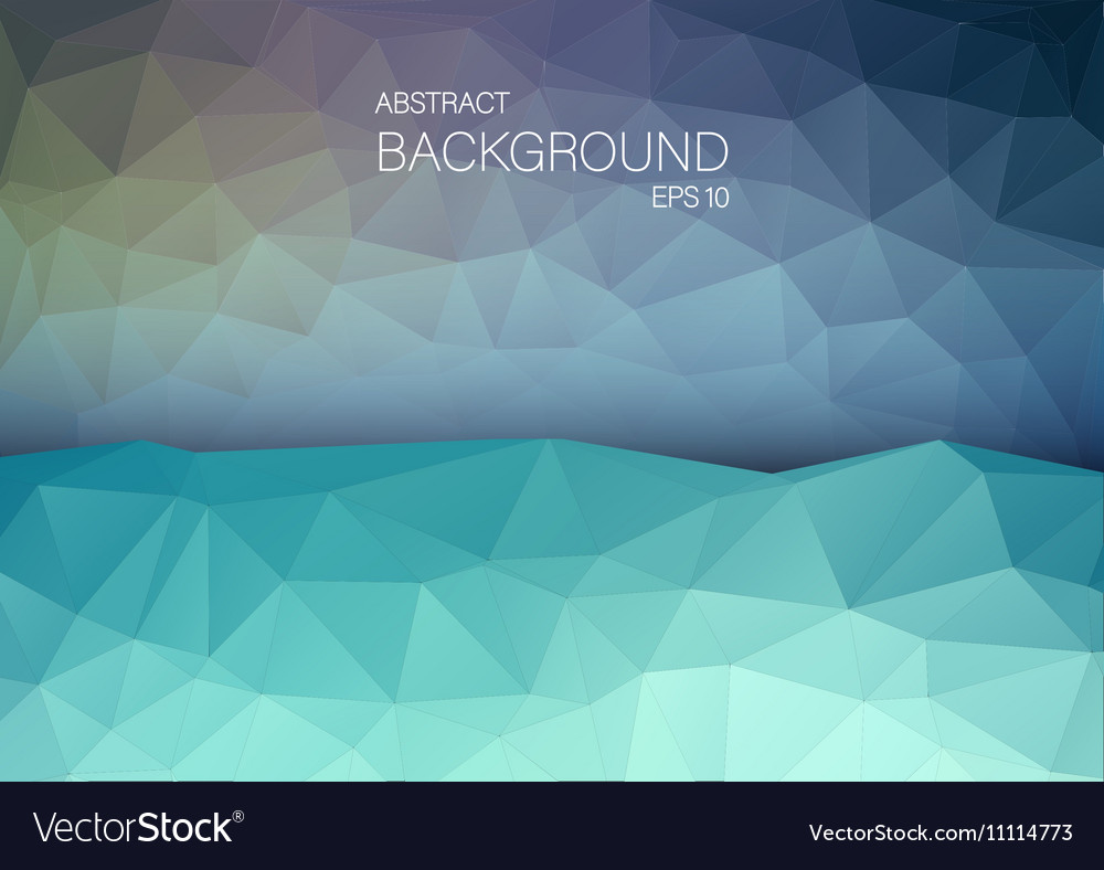 Art backgound for web abstract triangle shapes vector
