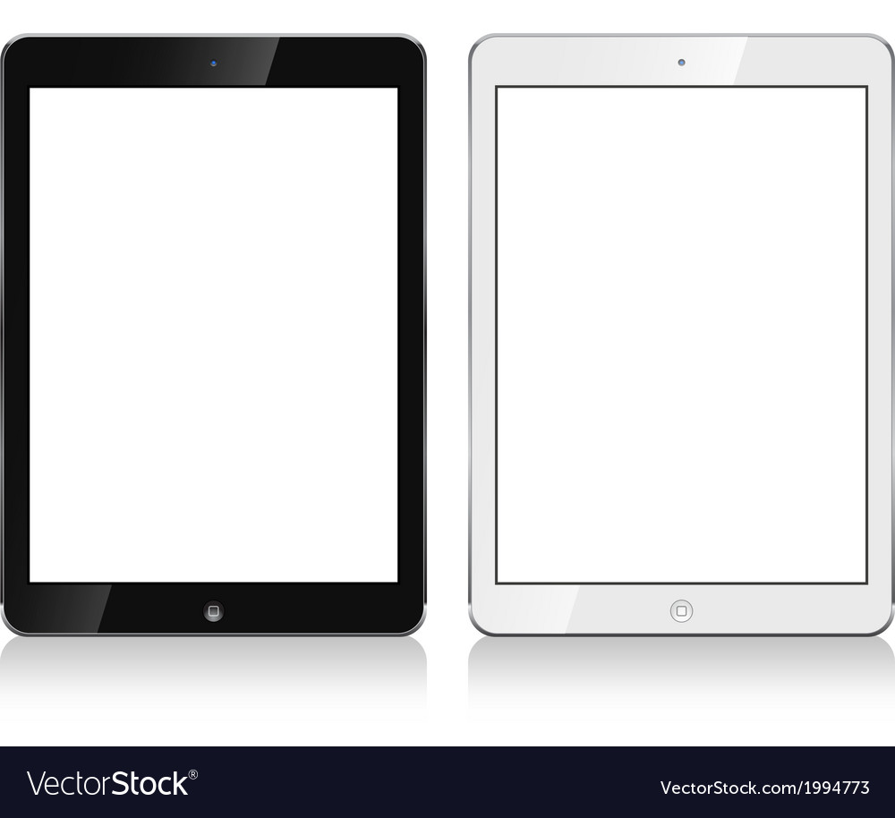 Ipad air ipad pro vector