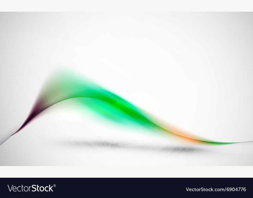 Green wave abstract background business hitech vector