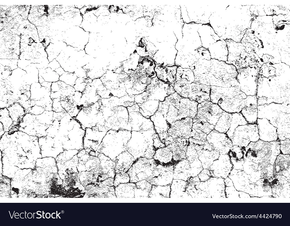 Distress cracks vector
