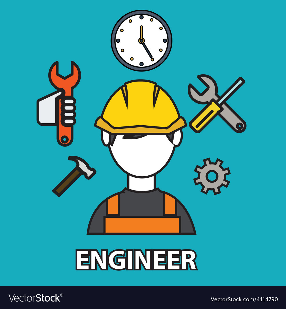 Engineering icon vector