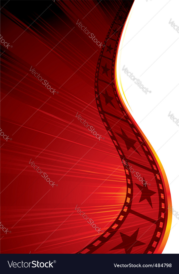 Hot film vector