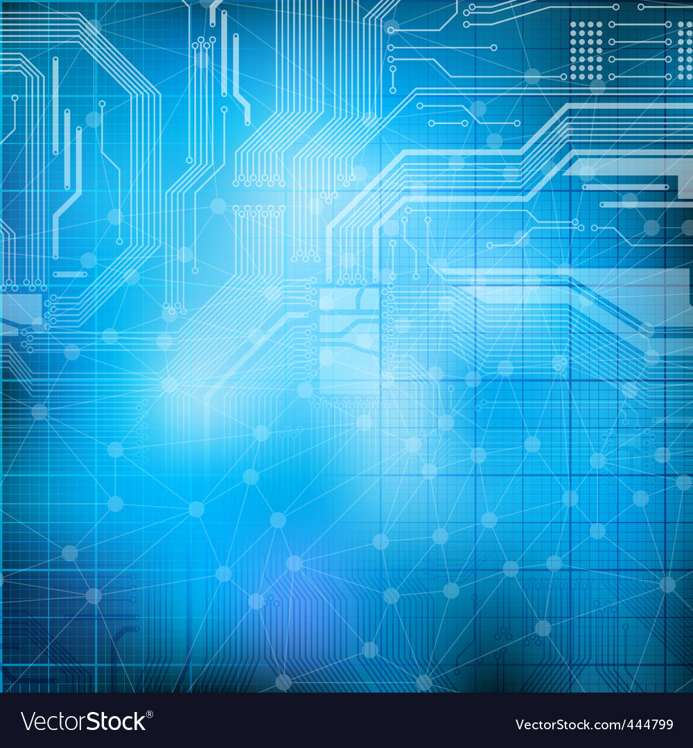 Technology theme background vector