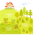 Home and Garden vector image vector image