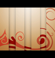 beige background with stripes vector image