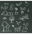 Set of Eco symbols vector image