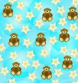 adorable seamless background vector image