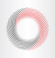 decorative circle abstract frame icon vector image
